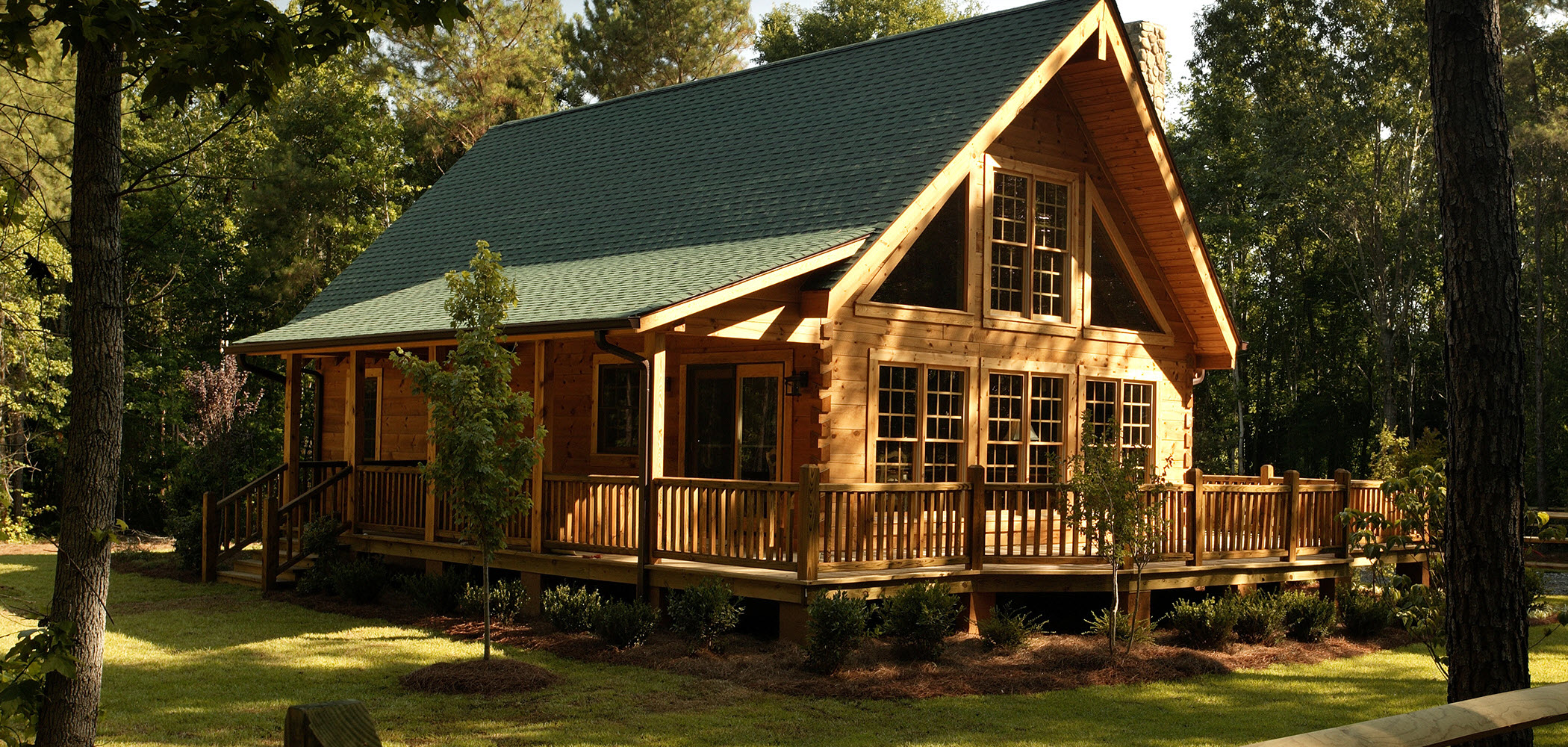 Log houses r nkh zak megaport media for Two bedroom log homes