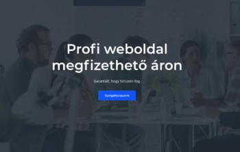 Profi weboldal