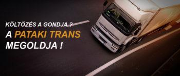 Pataki Trans Költöztetés