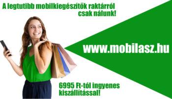 Mobil Ász Shop mobiltokok, kiegészítők raktárról