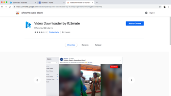 FB2Mate – Facebook Video Downloader