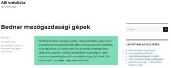 AB weblista