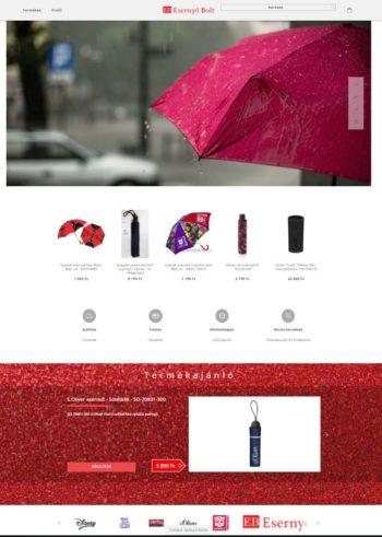 Esernyő bolt - www.esernyobolt.hu