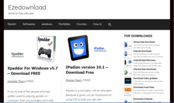 ezedownload homepage