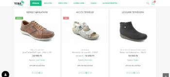 Cipő webáruház – Viba cipő