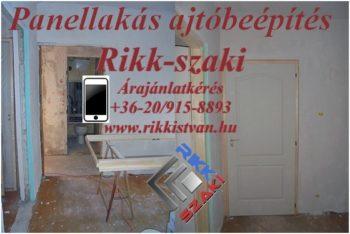 Panel lakás beltéri ajtócsere