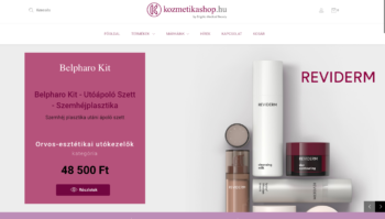 Kozmetikashop.hu by Brigitta Medical Beauty