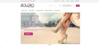 Bolero cipő webshop, webáruház és divatáru