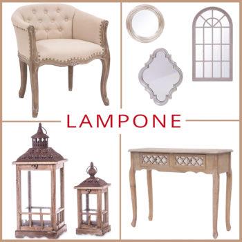 Kisbútorok, konzolasztal, álló tükör, fali tükör, fotel, lámpás és sok más szépség