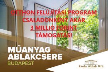 otthonfelújítási támogatás ablakcserére