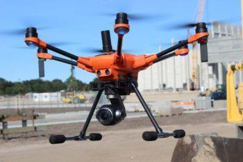 Yuneec ipari drón
