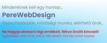 PereWebDesign – Mindenkinek kell egy honlap