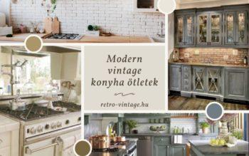 Retro Vintage blog – vintage konyha berendezés ötletek: konyhabútorok, kiegészítők