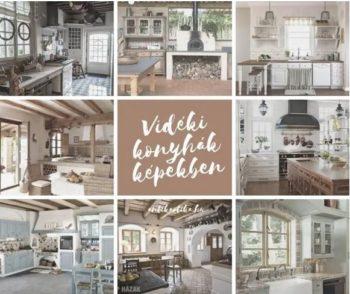 A vidéki konyha berendezése: ötletek, képek